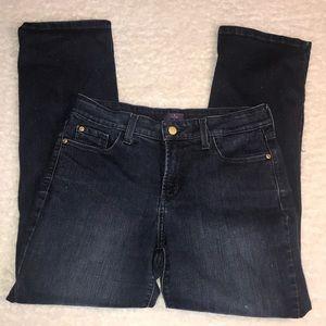 NYDJ Jeans 12P Straight Sparkles